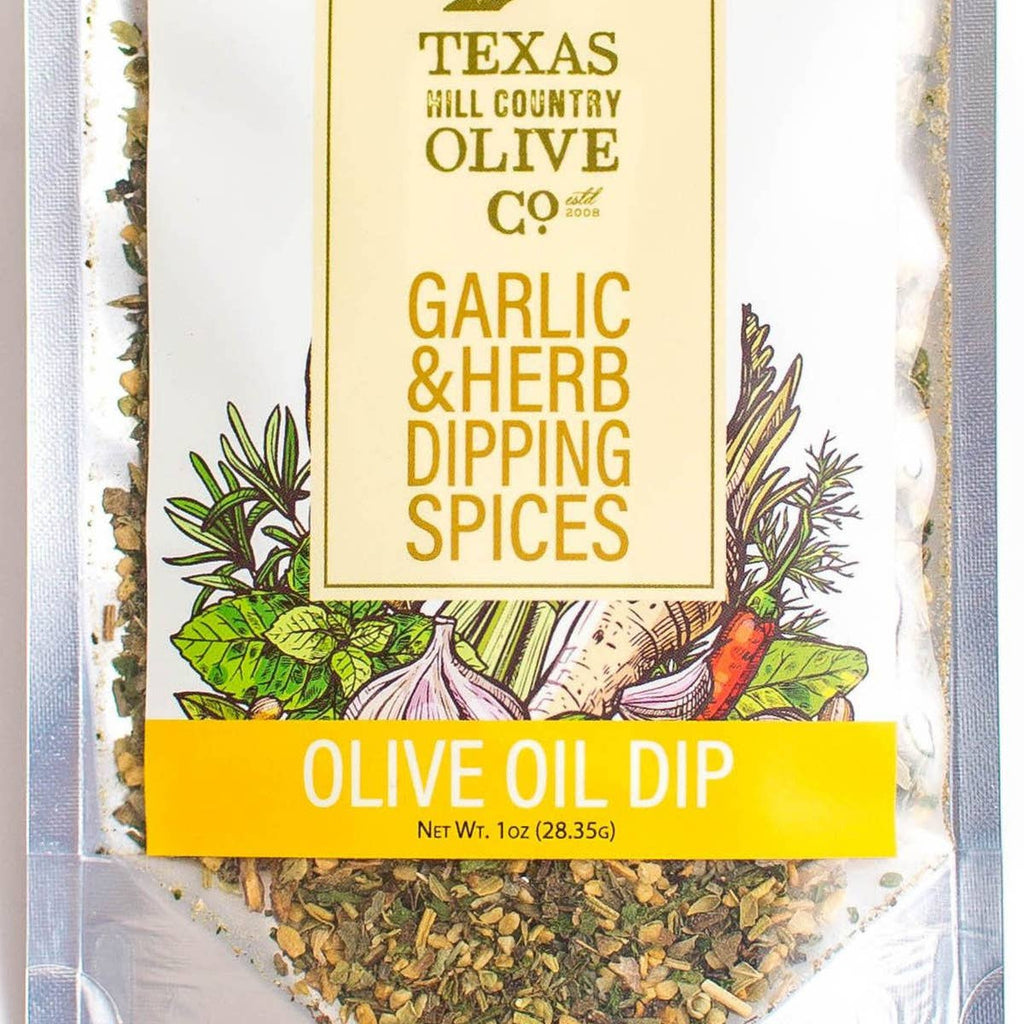 Garlic & Herb Dipping Spices | TEXAS Hill Country Olive Co.