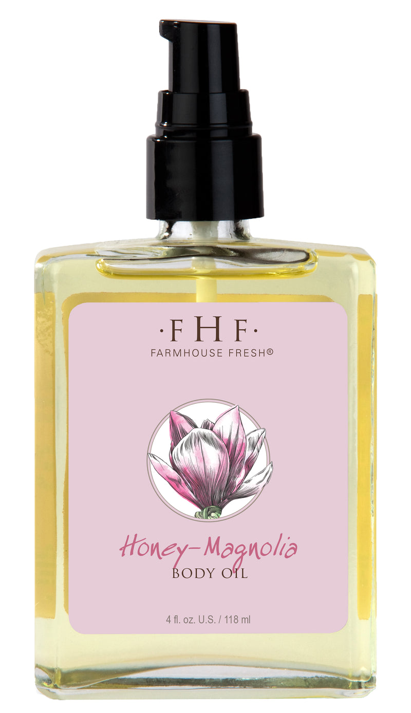Honey-Magnolia Body Oil