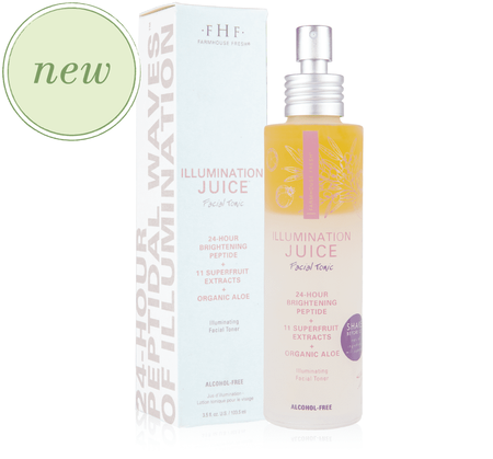 Illumination Juice™ Facial Tonic – Illuminating Facial Toner Farmhouse Fresh