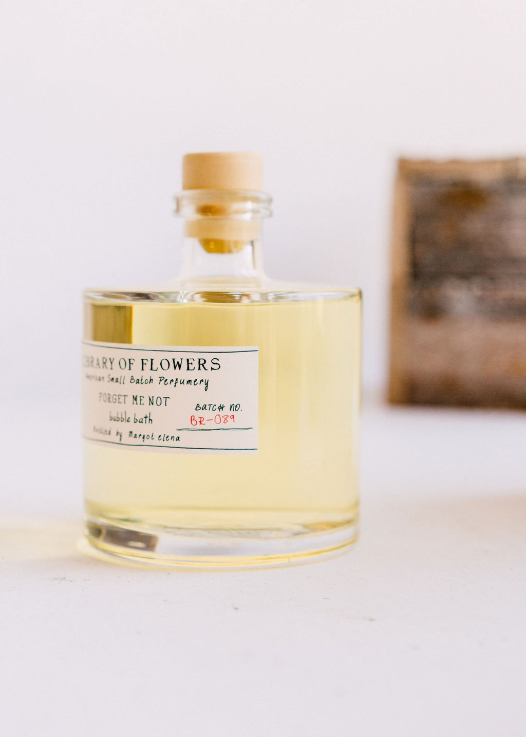 LIBRARY OF FLOWERS | Forget Me Not Bubble Bath