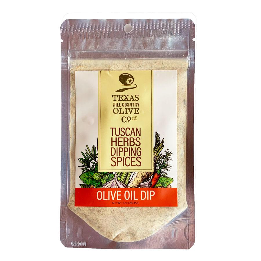 Tuscan Herbs Dipping Spices Olive Oil Dip | Texas Hill Country Olive Co.