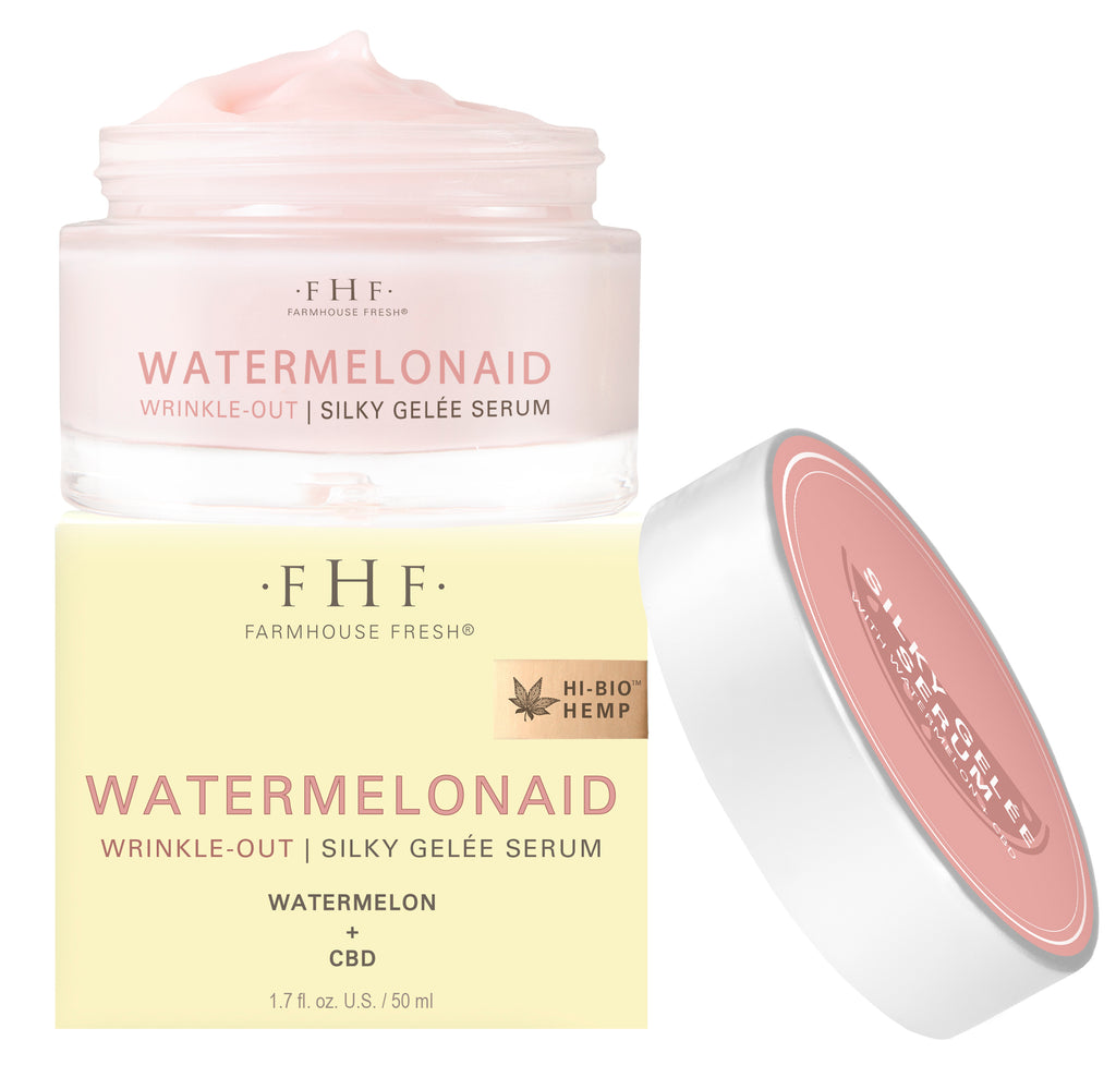 Farmhouse Fresh Watermelonaid Wrinkle Out ™ Silky Gelée Serum