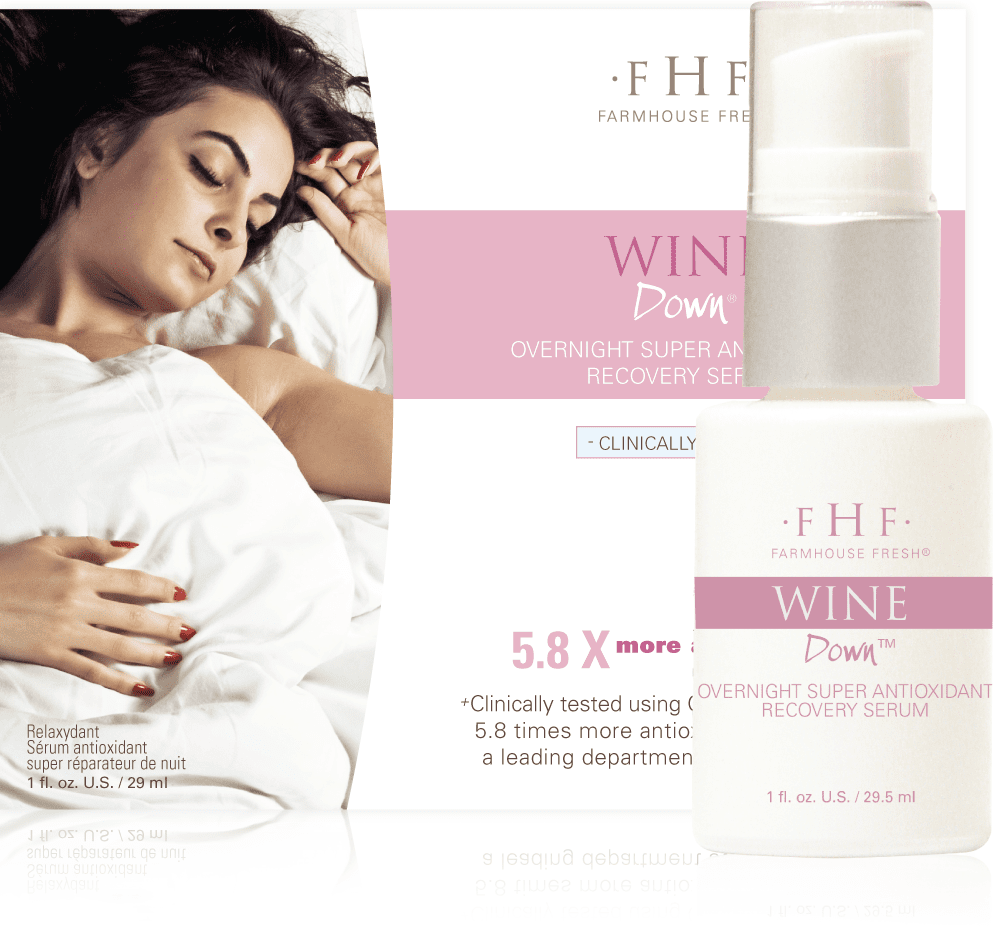 Farmhouse Fresh Wine Down® Overnight Super Antioxidant Recovery Serum
