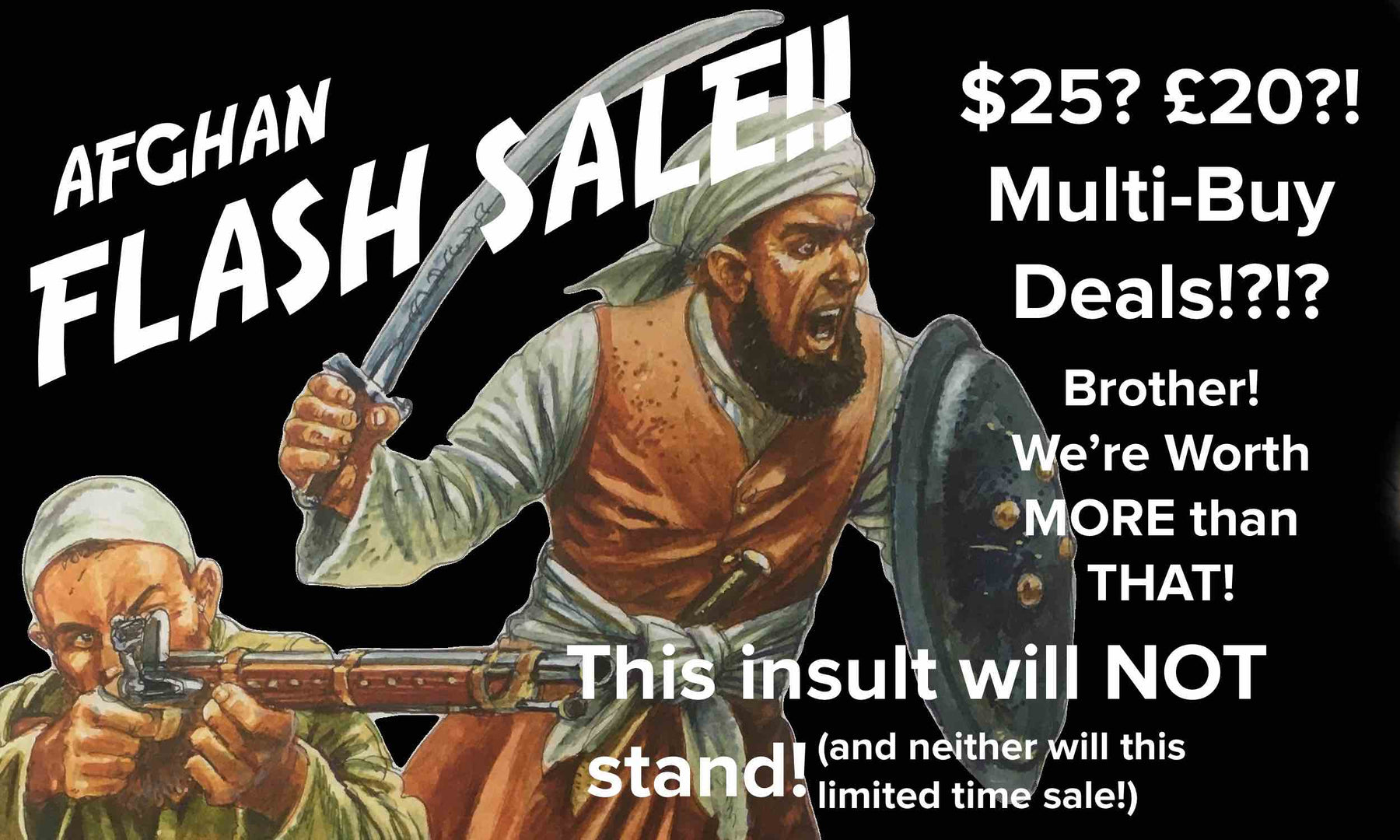 Afghans! Flash Sale!