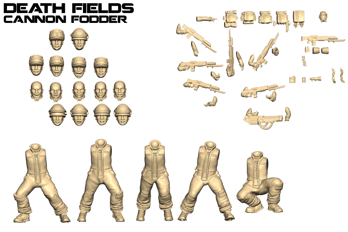 New Death Fields Faction: Cannon Fodder!