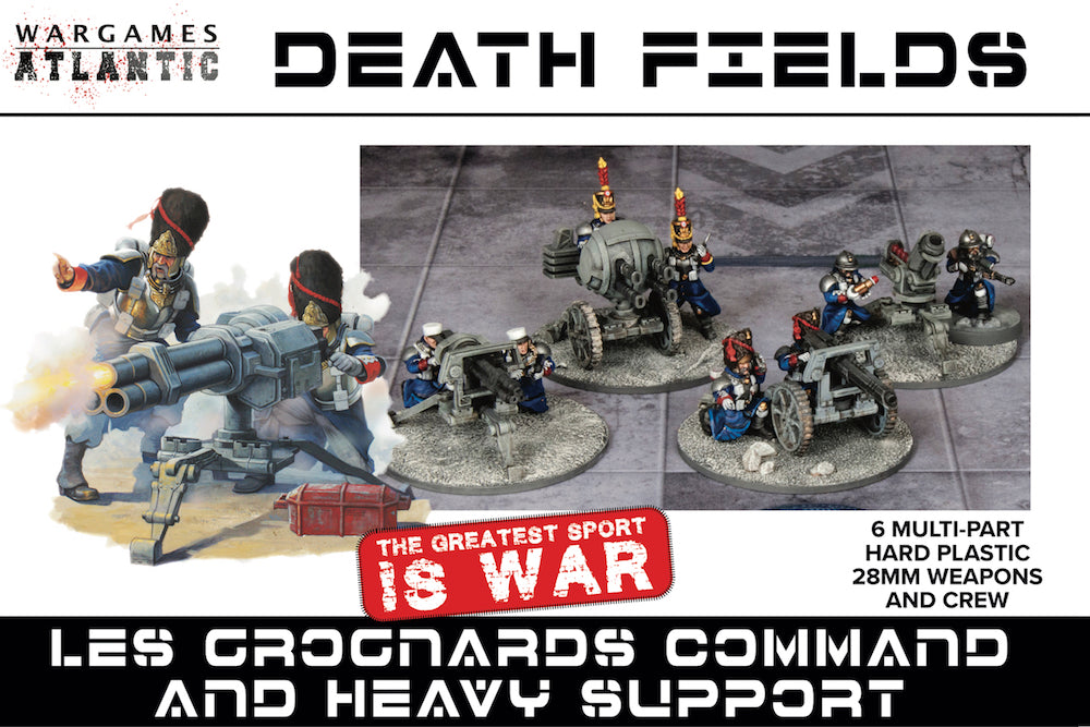 Les Grognard Command and Heavy Support Pre-Order