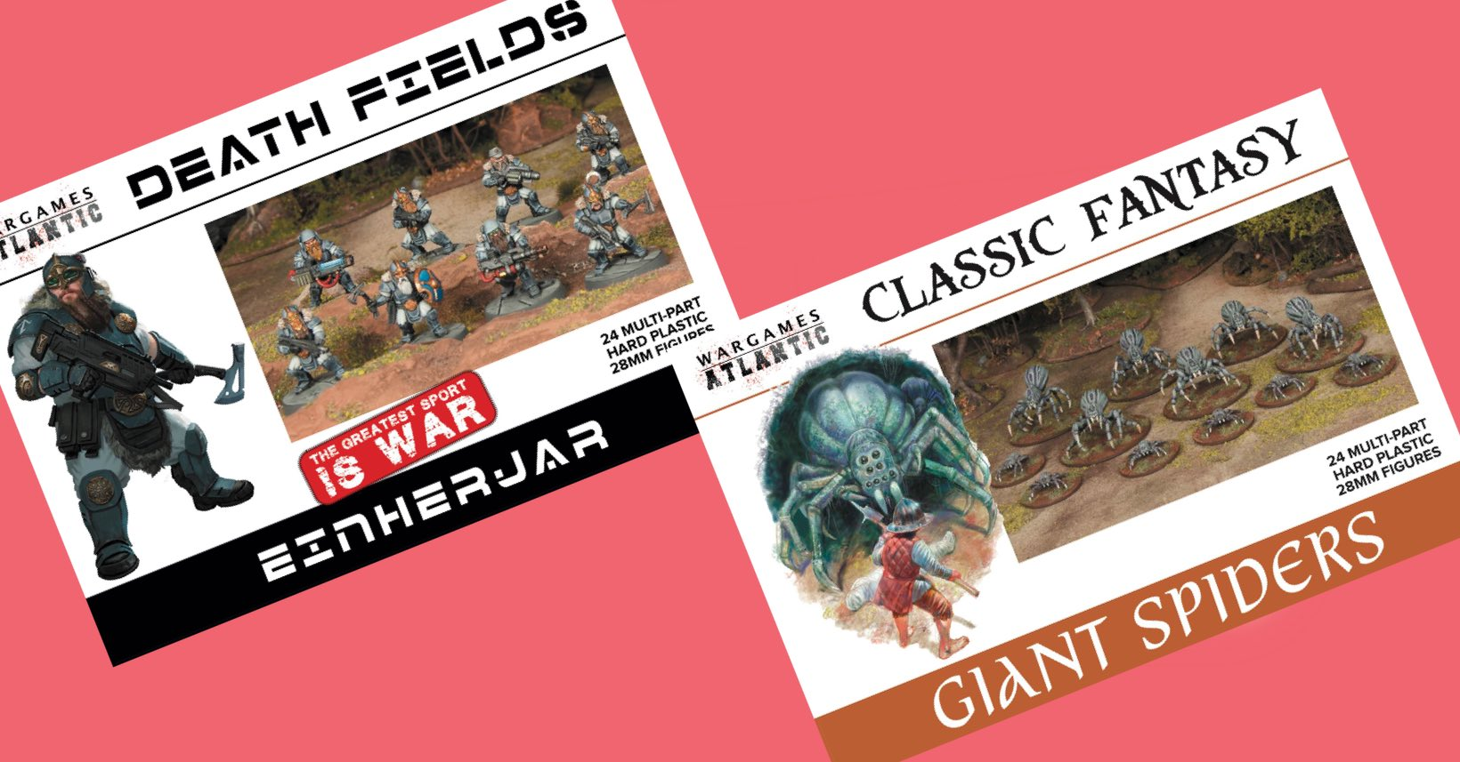 Pre-Order Einherjar and Giant Spiders