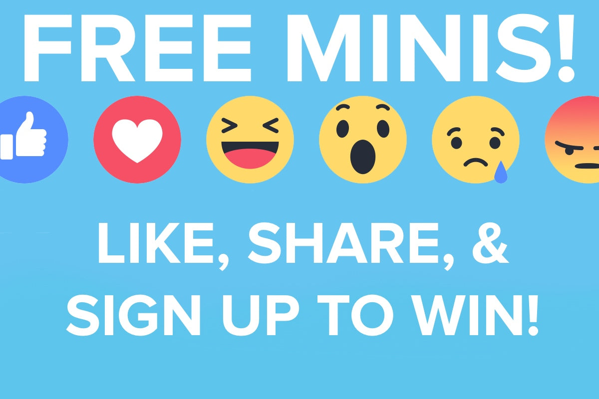 Win Minis in Our New Contest!