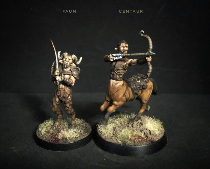 Two New Sets - Fauns and Centaurs