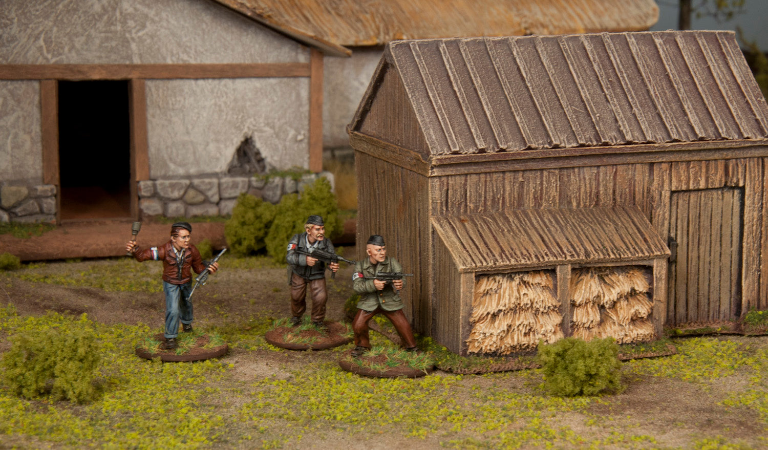 First WW2 Plastic Set: Partisans
