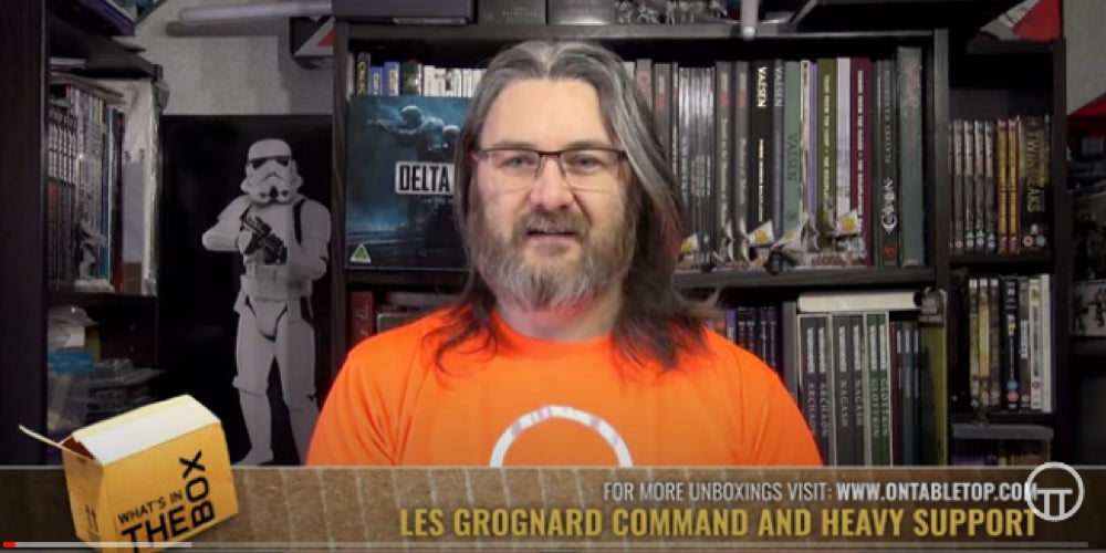 On Table Top YouTube Review: Grognard Command and Heavy Support!