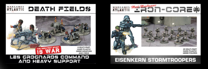 Grognard Command and Eisenkern Stormtroopers Schedule