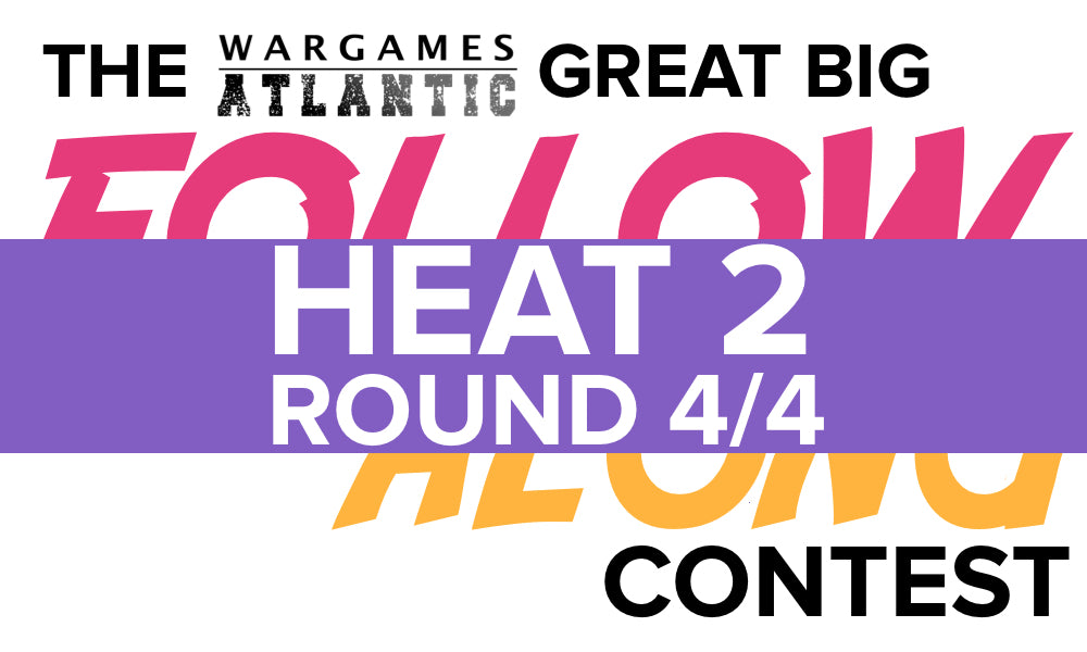The Final Round of Heat 2! Round 4 of 4.