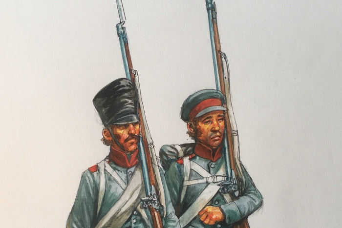 Preview: Napoleonic Prussian Reserve Army Builder Set