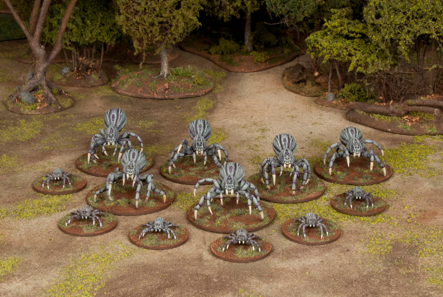 A Closer Look at the Upcoming Giant Spiders Set