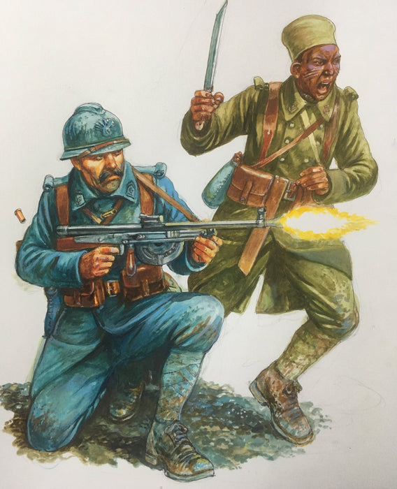 Artwork for World War One/Two French
