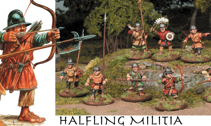 Halfling Militia Now Available Worldwide