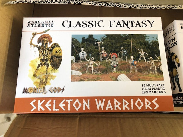 Our First Releases: Skeleton Warriors and Raumjäger Infantry Shipping Out