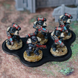 MOVEMENT TRAYS (Round bases).