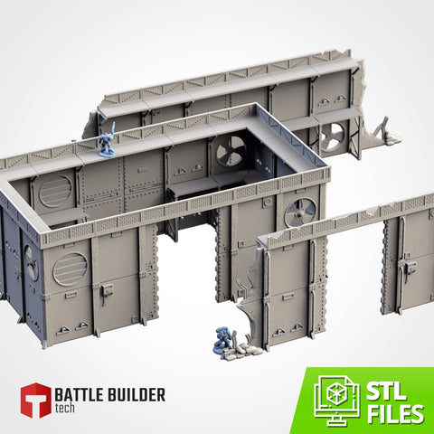 Modular Defenses (STL FILES)