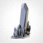 Glass Stones Terrain (STL FILES)