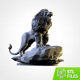 The Lion (STL FILES)