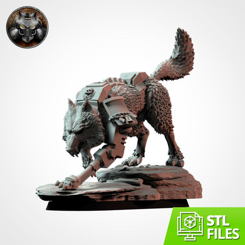 Wolffang's Wolf (STL FILES)