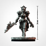 Justine Wargaming scale (STL FILES)