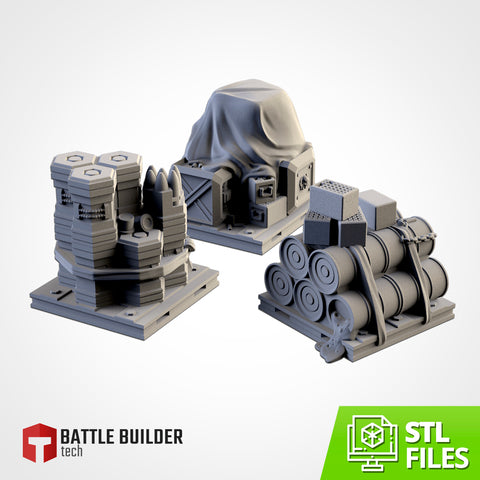 Supplies Pack - (STL FILES)