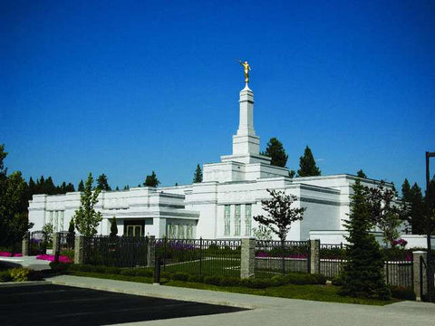 Spokane Washington Temple Schedule