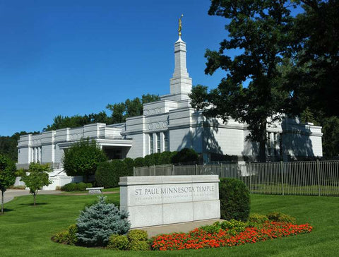 St. Paul Minnesota Temple Schedule