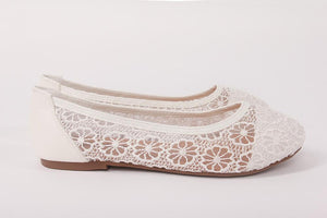White Zinnia Shoes