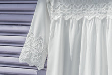 Load image into Gallery viewer, White Daffodil Dress - ModWhite / White LDS Temple Dresses