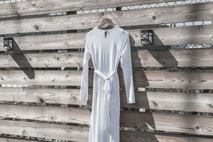 White Lily Dress - ModWhite / White LDS Temple Dresses