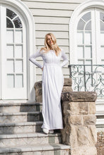 Load image into Gallery viewer, White Angelonia Dress