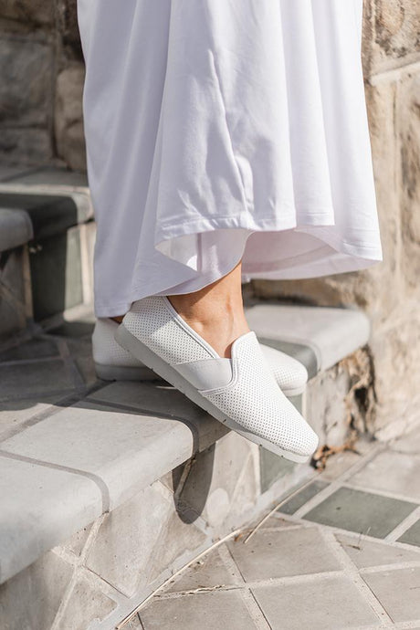 White Dahlia Shoes
