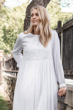 Load image into Gallery viewer, White Rosemallows Dress