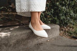 White Tulip Shoes