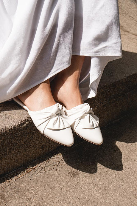White Iris Shoes
