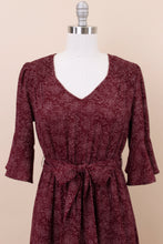 Load image into Gallery viewer, Lolita Modest Dress | Burgundy