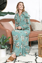 Load image into Gallery viewer, Avianna Floral Maxi Dress