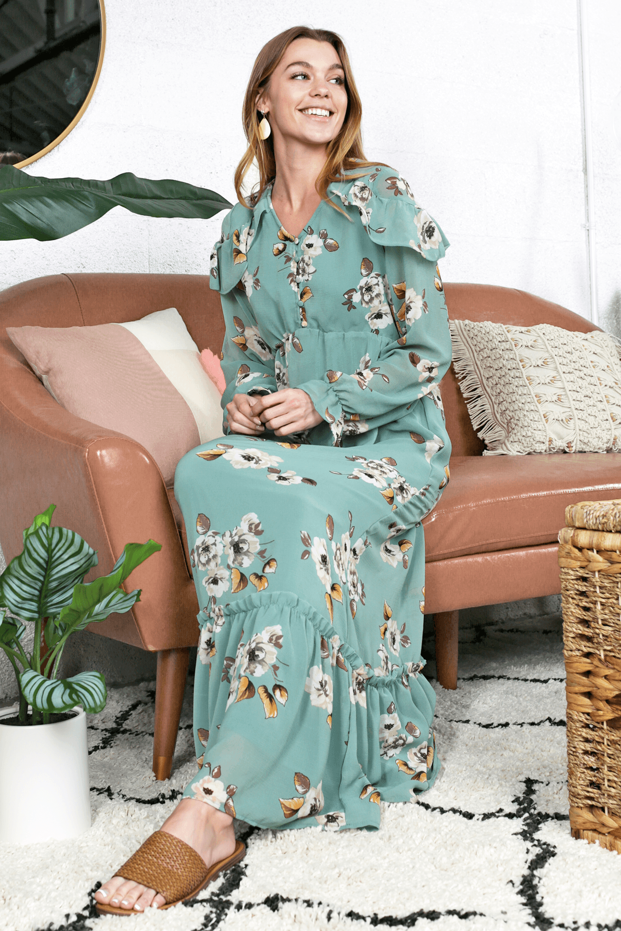 Avianna Floral Maxi Dress