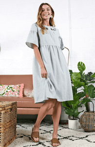 Alora Embroidered Dress