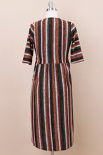 Load image into Gallery viewer, Faye Modest Dress | Rust Multi