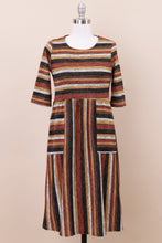 Load image into Gallery viewer, Faye Modest Dress | Mustard Multi