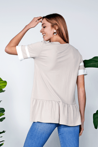 Aspen Knit Top | Taupe
