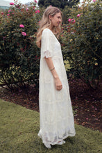 Load image into Gallery viewer, The Bellflower Modest Dress | Oatmeal