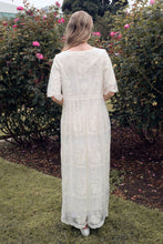 Load image into Gallery viewer, Bellflower Modest Dress | Oatmeal