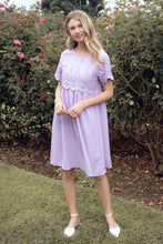 Load image into Gallery viewer, The Peony Modest Dress | Lavender