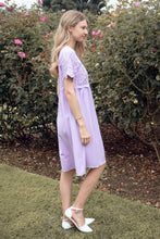 Load image into Gallery viewer, Peony Modest Dress | Lavender